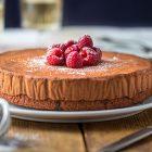 Mousse cake vegan al cioccolato