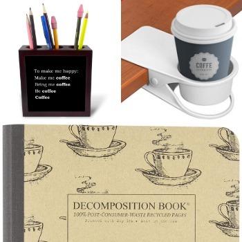set da scrivania caffè