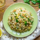 Insalata di riso vegan