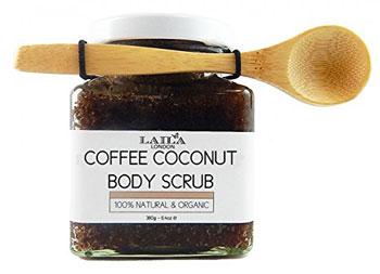 scrub corpo vegan al caffè