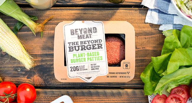 Burger vegani Beyond Meat Italia