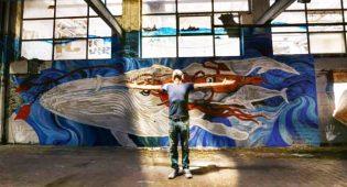 Moby Dick, lo street artist che dipinge quello che vogliamo ignorare