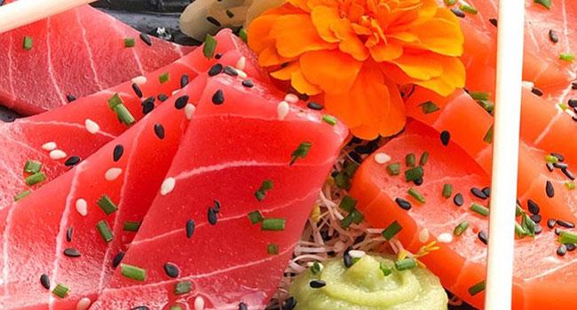 sashimi vegano