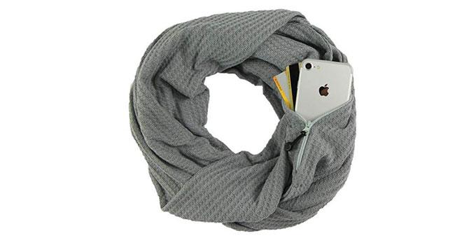 sciarpa da viaggio