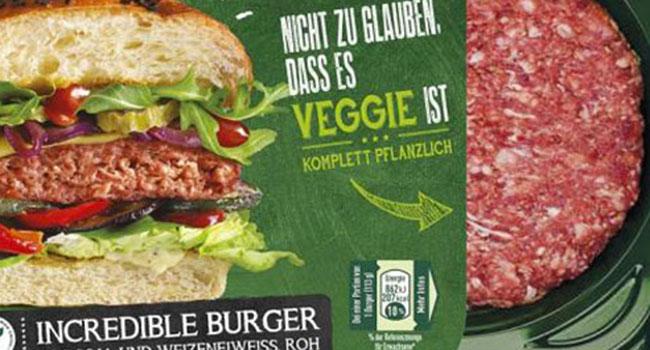 Nestlè hamburger vegano