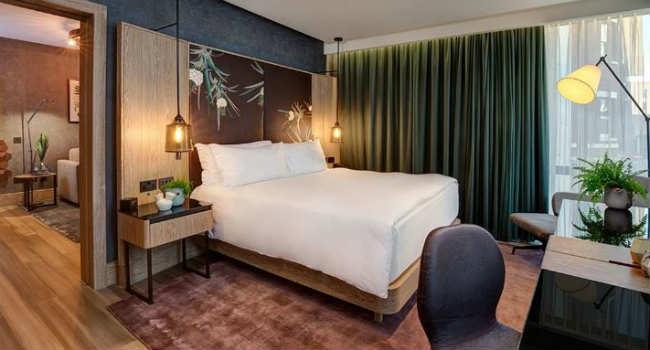 Hilton Hotel suite vegana Londra