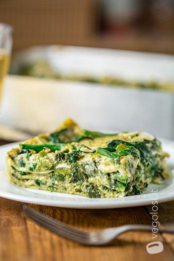 Lasagne verdi vegane