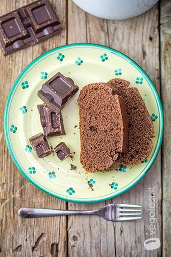 Plumcake al cioccolato vegan