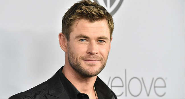 Chris Hemsworth vegan