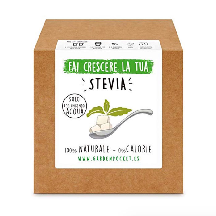 coltivare la stevia in casa
