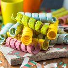 Stelle filanti colorate