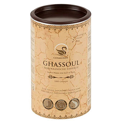 Ghassoul argilla saponifera