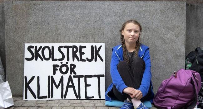 Greta Thunberg vegana