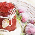 Confettura (o marmellata) di fragole senza zucchero