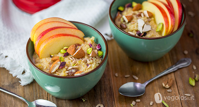 Breakfast light bowl - Porridge di quinoa
