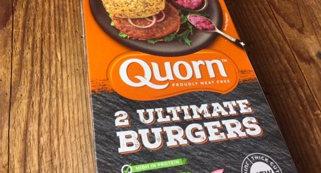 Ultimate burger quorn