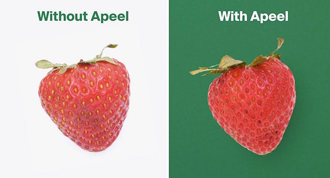 pack edibile per conservare di più la frutta e la verdura
