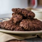 cookies vegani al doppio cioccolato
