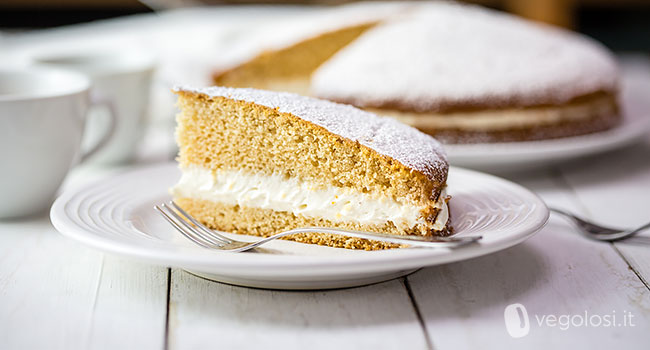 Torta paradiso vegan ricetta