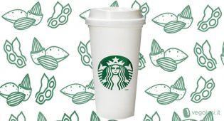 """Starbucks: """"Spingeremo i clienti a scegliere le alternative vegetali al latte"""""""
