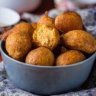 frittelle vegane di patate dolci