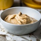 Hummus dolce alle banane e cannella