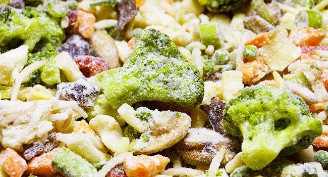 Come congelare le verdure?