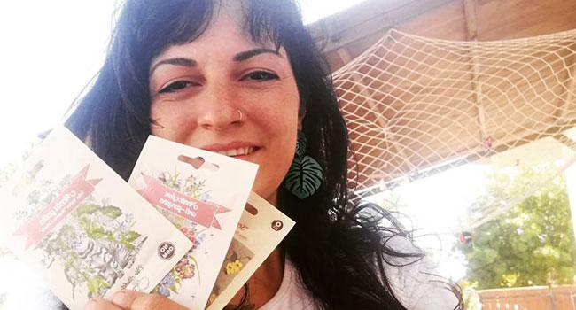 As flores de Matisse, Klimt e Monet para serem cultivadas na varanda da casa: a idéia de uma menina romana 4