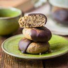 Biscotti vegani alle castagne e cioccolato speziati