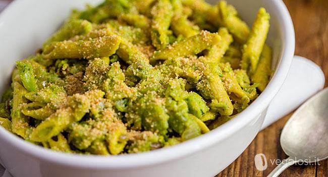Pasta con i broccoli arriminati