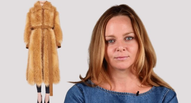 Stella McCartney dá a Loren uma pele vegana, o apelo dos ativistas dos direitos dos animais: vamos libertar a Itália das peles 13
