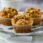 Muffin vegan senza zucchero ai fichi secchi e nocciole