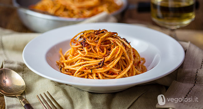 spaghetti all'assassina - ricetta barese