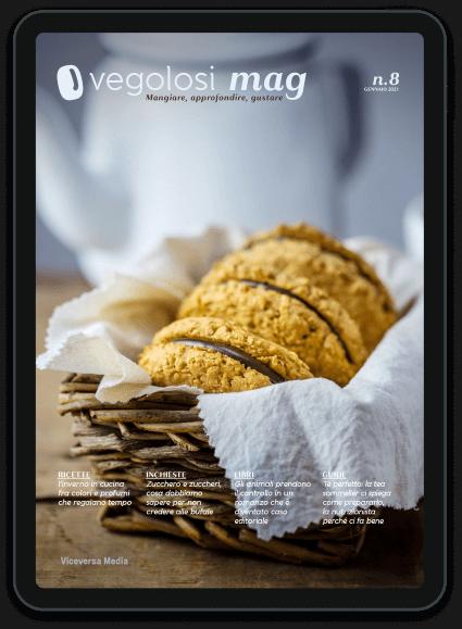 copertina vegolosi mag n. 8 gennaio 2021