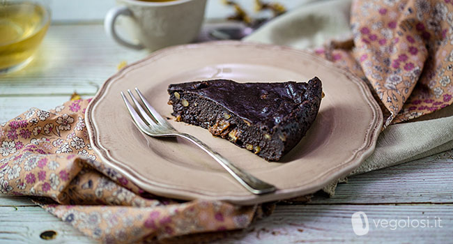 Torta nera paesana vegan