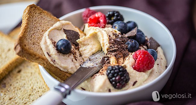 Hummus dolce gusto cheesecake