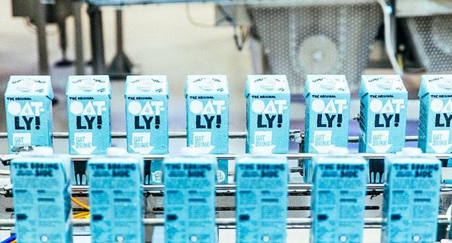 La più grande fabbrica di latte vegetale del mondo