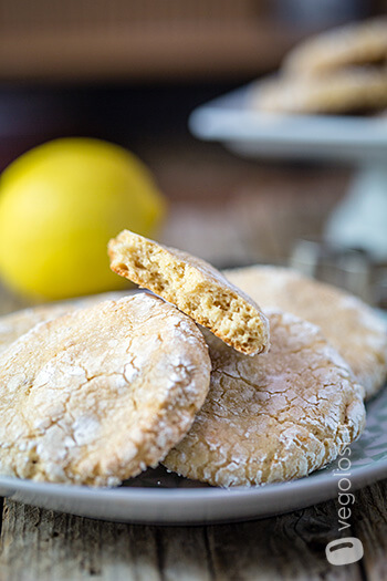 Cookies vegani al limone