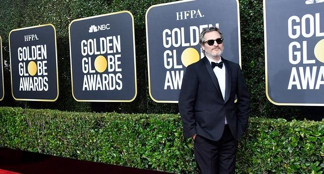 Joaquin Phoenix ai Golden Globe 2020