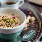 Porridge senza cottura gusto baklava