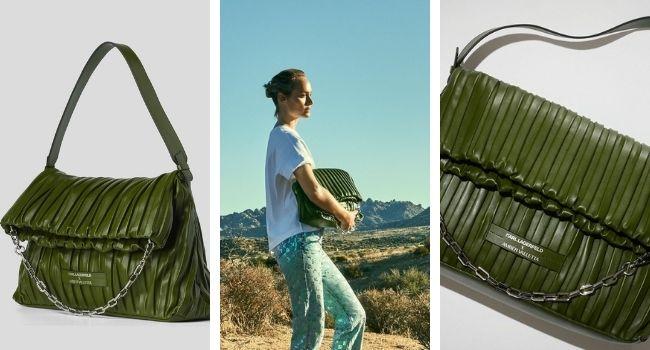 Karl Lagerfeld: ecco borse e portafogli in cactus per la nuova collezione sostenibile