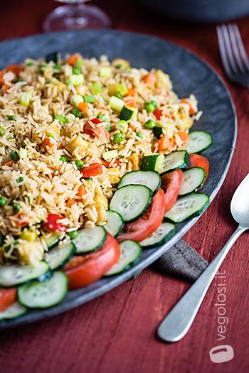 Nasi goreng - Riso fritto indonesiano