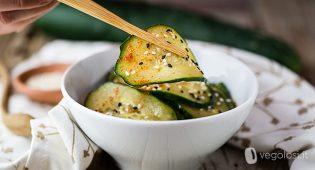 Insalata di cetrioli alla coreana