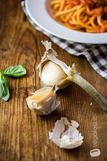 Pici all'aglione della Valdichiana